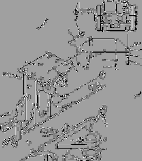 HYDRAULIC PIPING (FLOW AMPLIFIER VALVE AND MOUNTING PARTS