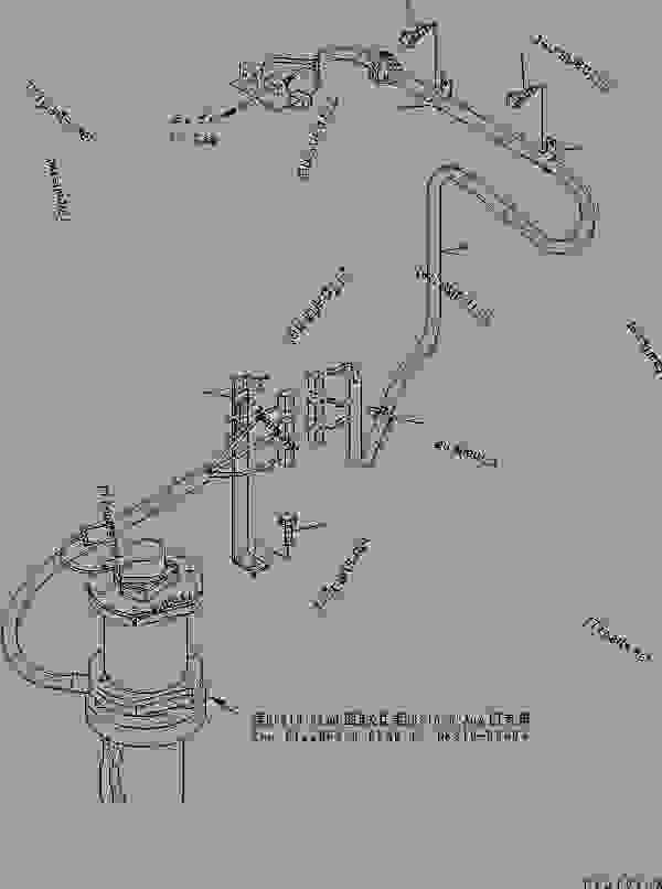 REVOLVING FRAME ELECTRICAL (SLIP RING WIRING)(#50001-50399