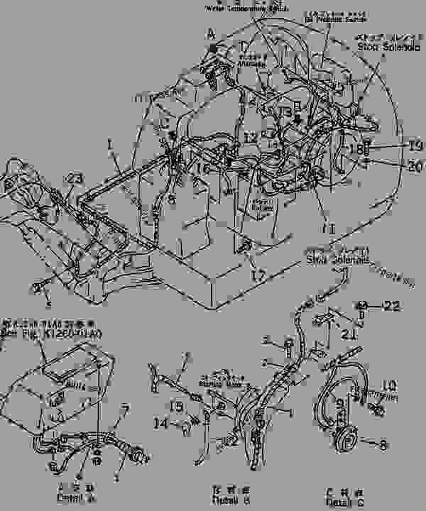ELECTRICAL WIRING (ENGINE AND INSTRUMENT PANEL LINE