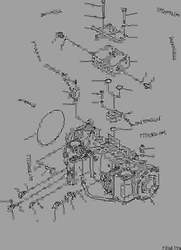 (708-2H-00322) PUMP ASS'Y,(SEE FIG. Y1601-41A0