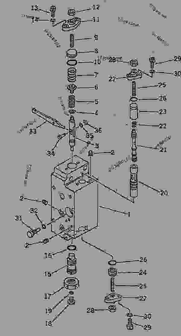 HYDRAULIC PUMP (SERVO VALVE SUB ASS'Y? REAR) (12/15