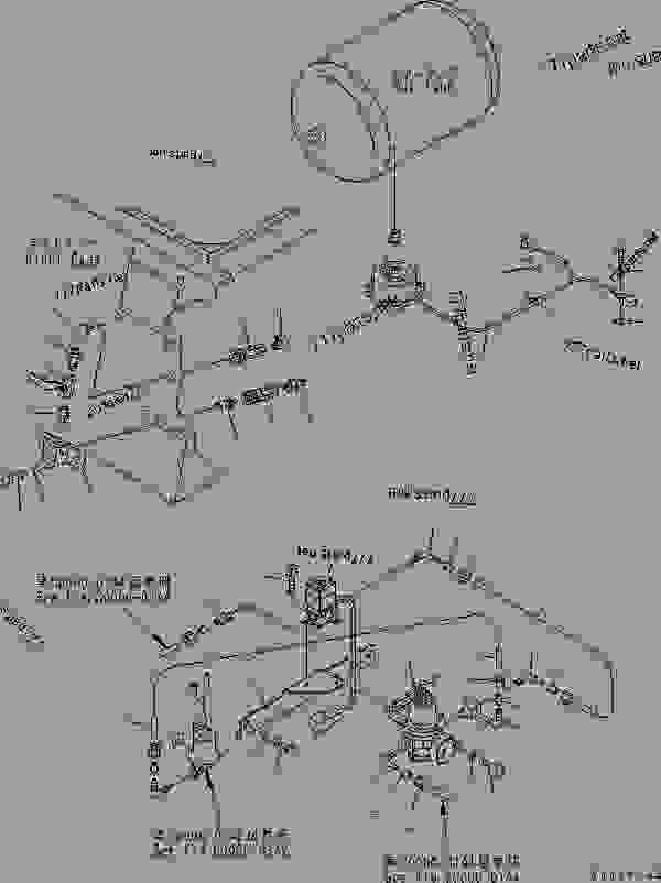 AIR SYSTEM (AIR TANK DRAIN) (AIR VALVE) (COLD WEATHER A
