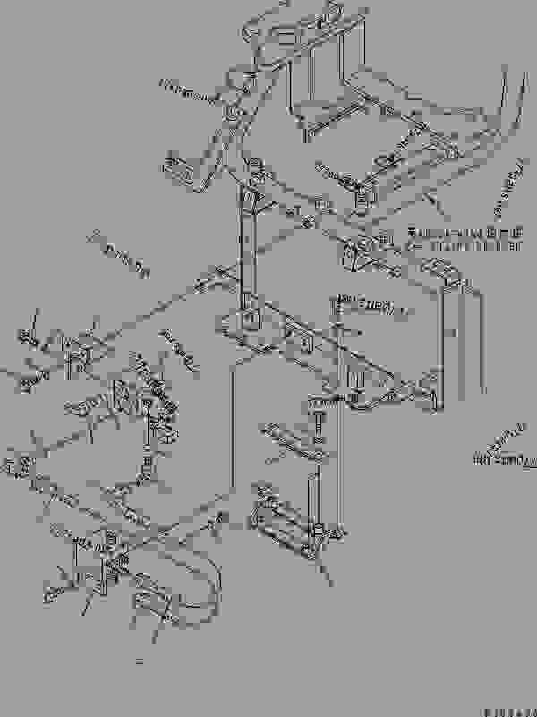 OPERATOR'S SEAT STAND (P.P.C. VALVE LINE) (ARM? SWING