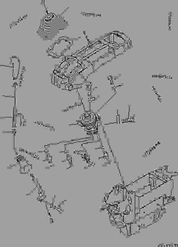 FLOOR FRAME (OPERATOR'S CAB) (LEVER AND VALVE) (L.H.) (1