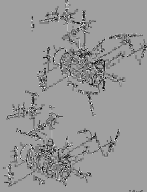 (708-2L-00550) PUMP ASS'Y,(SEE FIG. Y1600-01A0