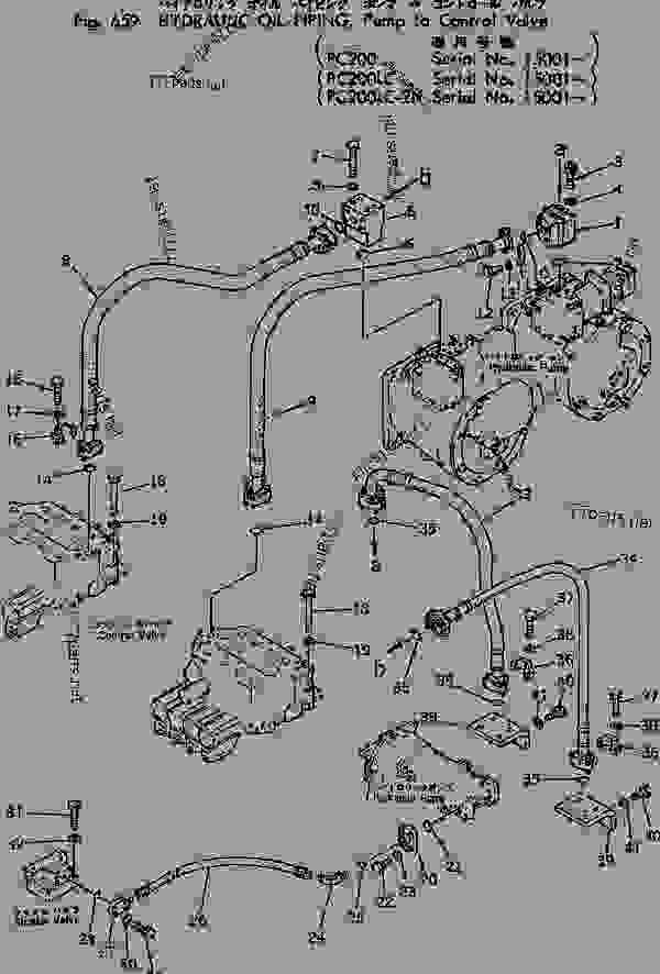 daewoo forklift transmission diagrams