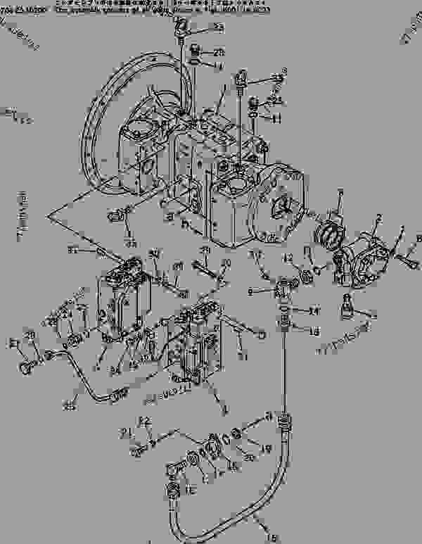 HYDRAULIC PISTON PUMP (1/4) (WITH 3-STAGE SELECTOR MODE
