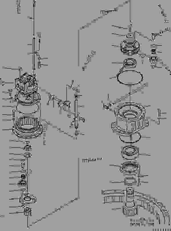 SWING MACHINERY (COLD AREA ARRANGEMENT (-40))(#255706