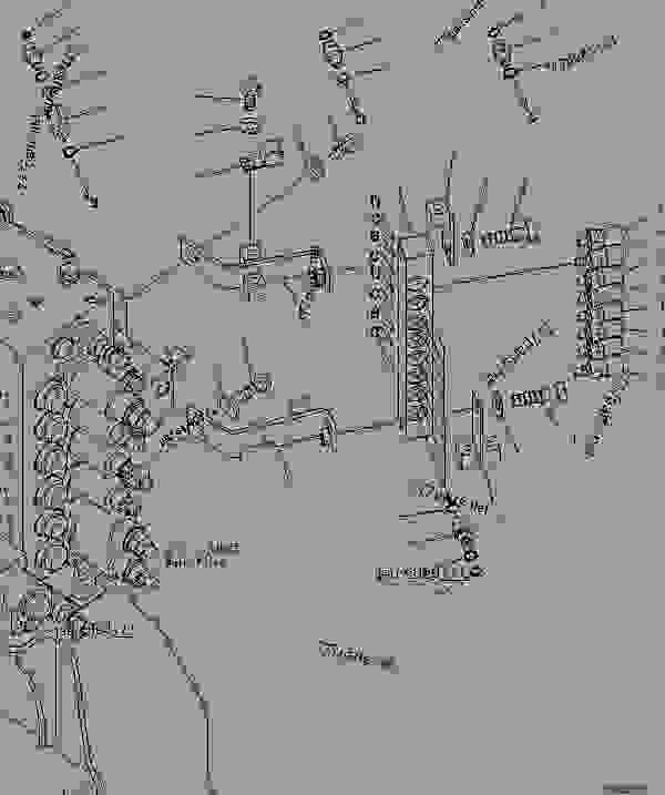komatsu radio wiring diagram