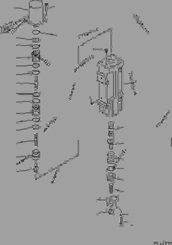 HYDRAULIC PUMP (11/16) (SERVO VALVE? FRONT) (4/4