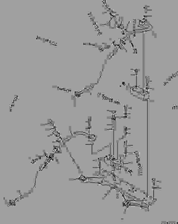 ATTACHMENT LINE (2 ACTUATOR) (CROSS VALVE AND BRACKET