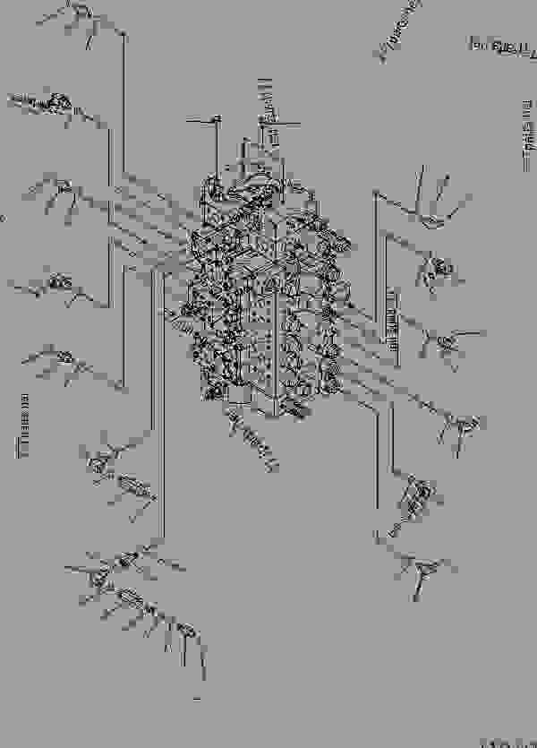 MAIN VALVE (CONNECTING PARTS) (1/2) (1 ACTUATOR