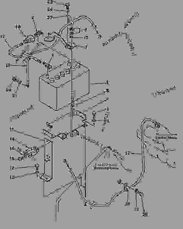 D20 Komatsu Wiring Diagram