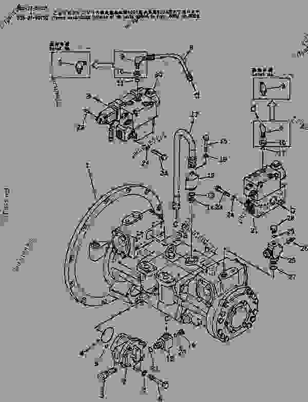 HYDRAULIC PUMP UNIT (WITH 3-STAGE SELECTOR MODE OLSS