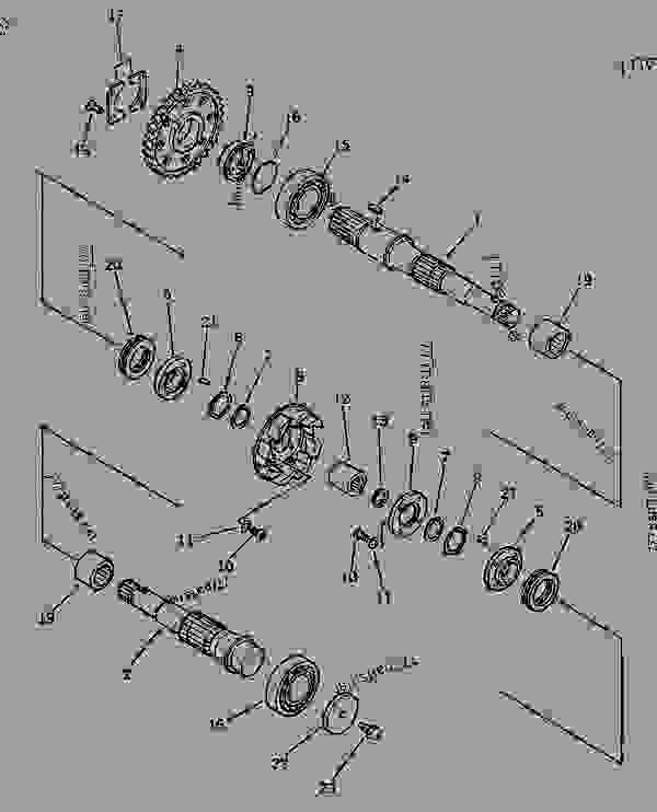 HYDRAULIC PUMP (7/16) (PUMP SUB ASS'Y) (6/6)(#20001