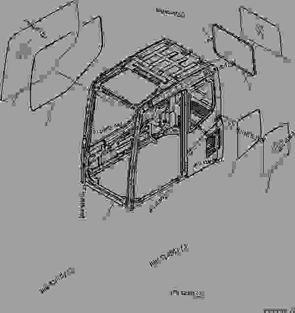 FLOOR FRAME (OPERATOR'S CAB) (CAB) (FOR U.S.A