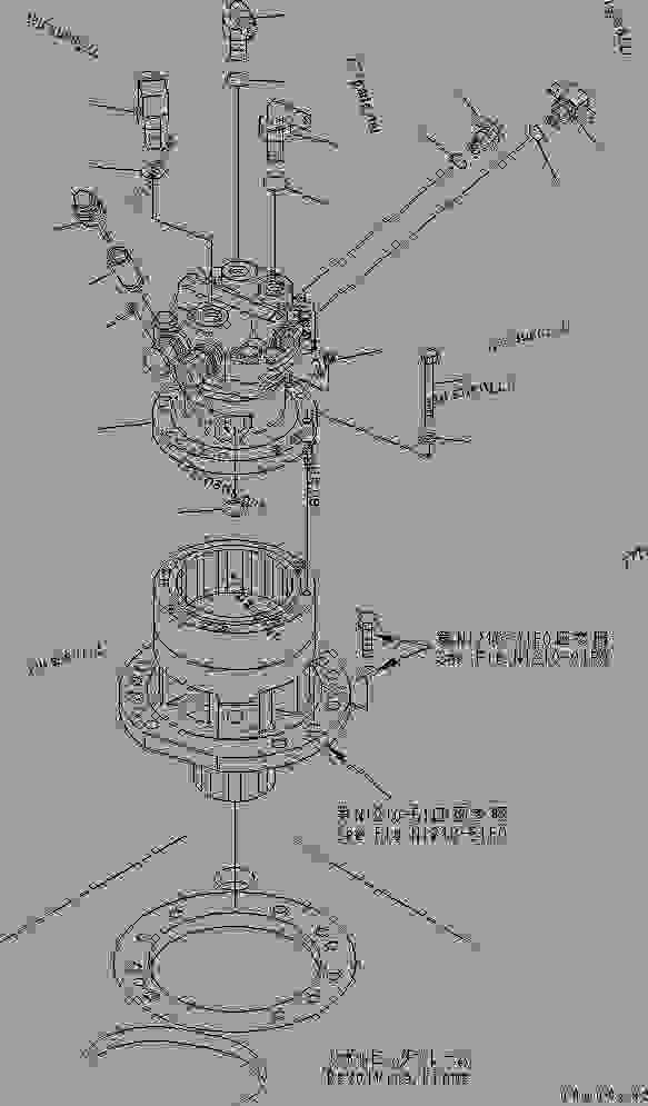 SWING MACHINERY (RELATED PARTS) (FOR CHINA)(#59900
