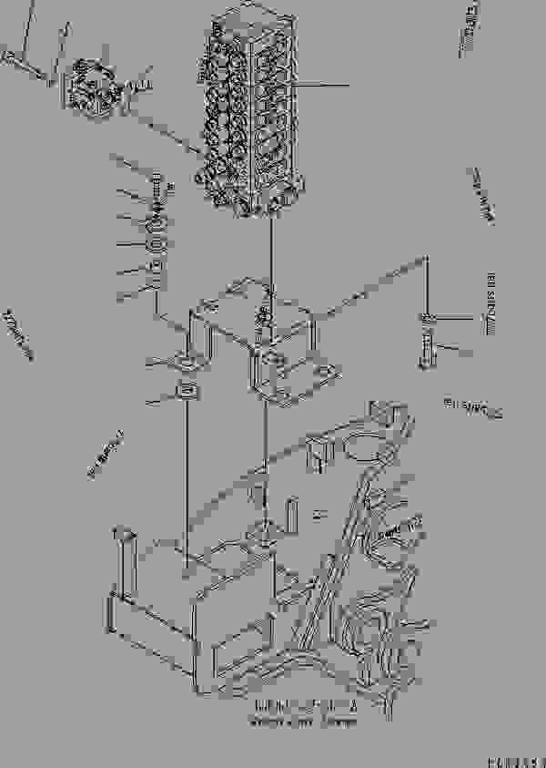 MAIN VALVE (MOUNT BRACKET) (FOR ATTACHMENT) (SERVICE VALVE