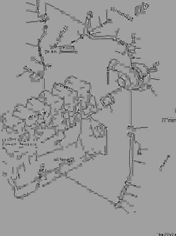 (6505-52-5350) TURBOCHARGER ASS'Y,(KTR110G-444B)(SEE FIG