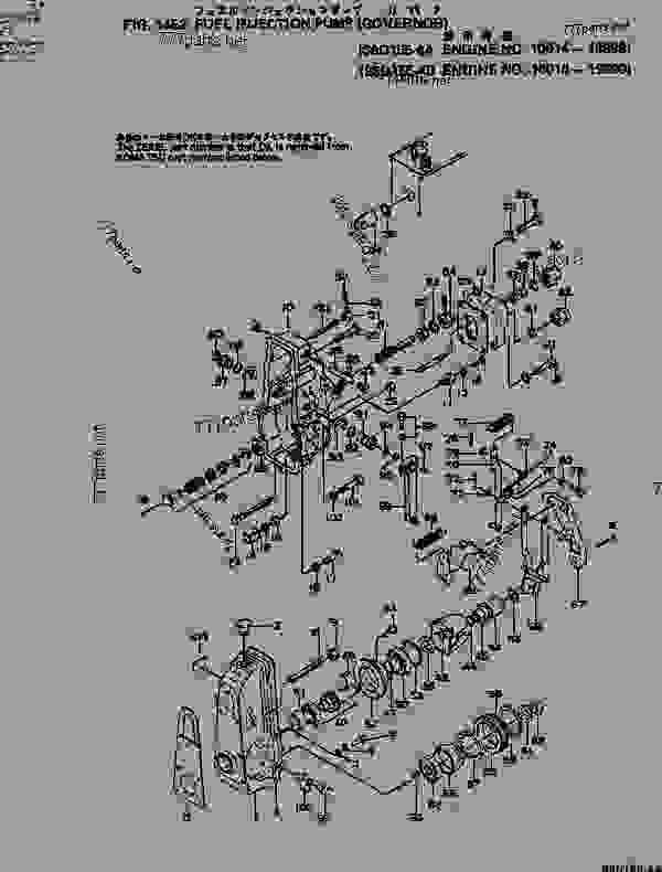 (6127-71-1030) INJECTION PUMP ASS'Y,(SEE FIG.1451
