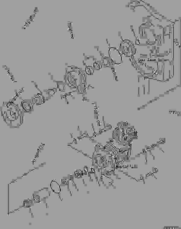 (6162-83-6600) AIR COMPRESSOR ASS'Y,(SEE FIG.A7010-D6C2
