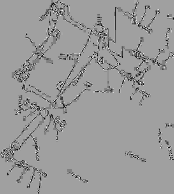 418-70-11981 PINLOCK, BELLCRANK TO LIFT ARM (FRAME END