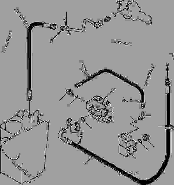 GROUND DRIVEN STEERING PIPING DIVIDER VALVE TO CONTROL