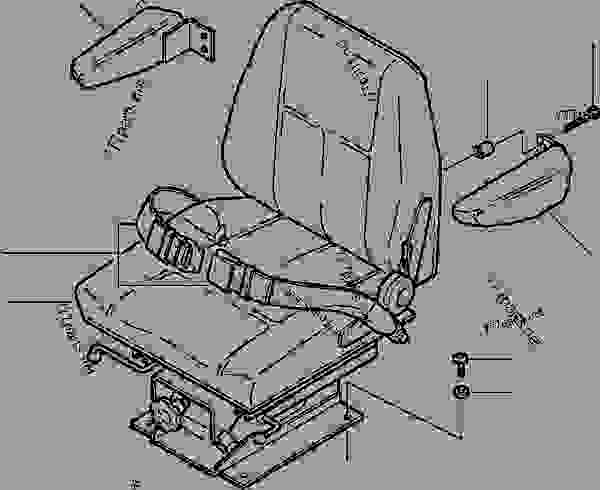 OPERATOR'S SEAT MOUNTING SUSPENSION TYPE (SEAR'S