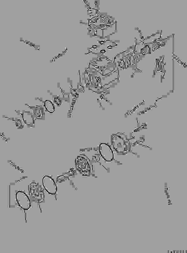 STEERING WHEEL AND COLUMN AND ORBITROL (ORBITROL VALVE