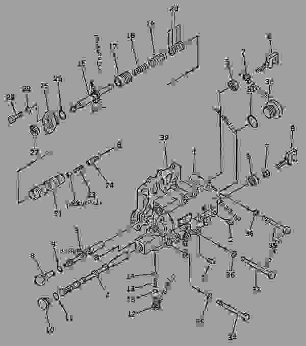 TRANSMISSION CONTROL VALVE (SELECTOR AND INCHING VALVE