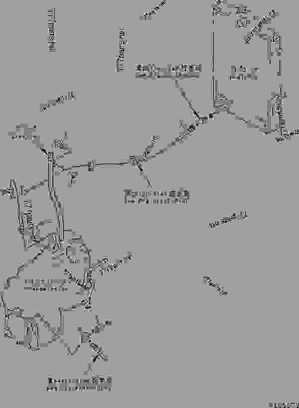 TRANSMISSION (OIL COOLER LINE AND PARKING BRAKE SWITCH
