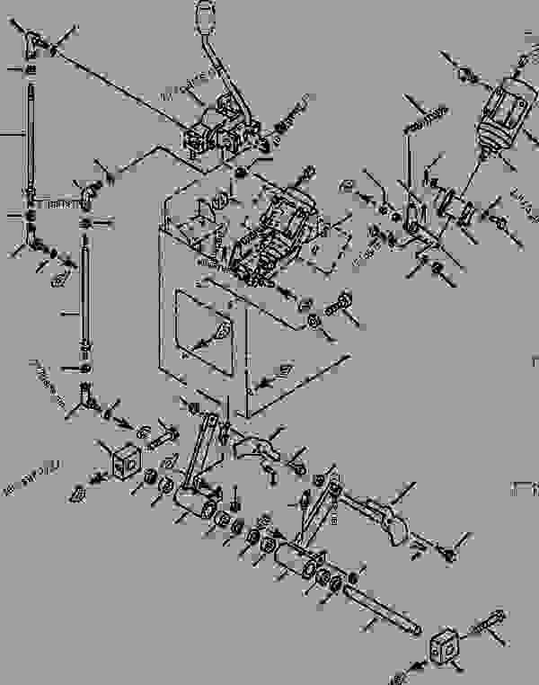 FIG NO. 6631 EQUIPMENT CONTROL LEVER MONO LEVER LINKAGE