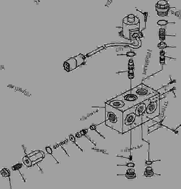 FIG NO. K4460-07A1 BRAKE CONTROL PARKING BRAKE RELEASE