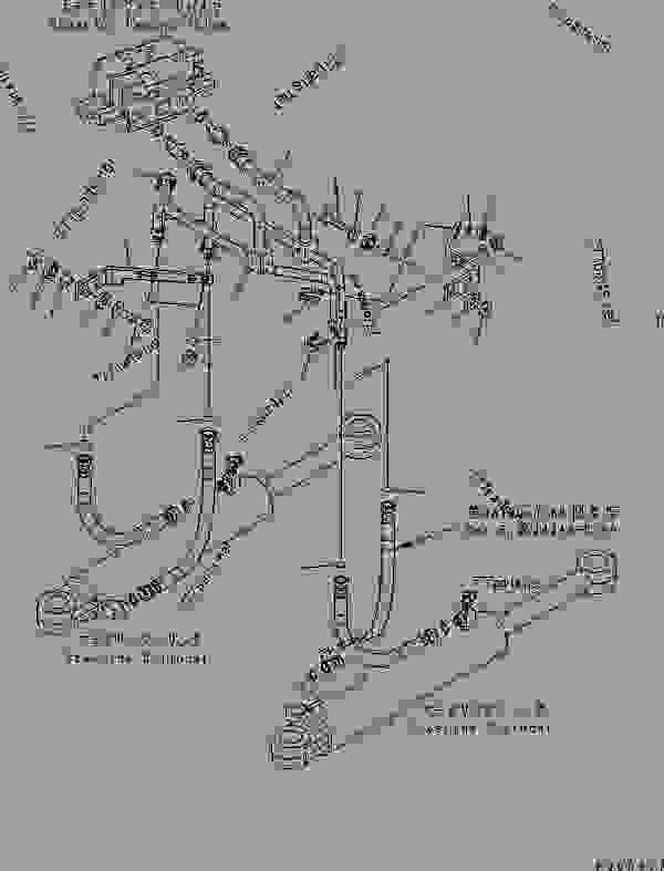 STEERING LINE (STEERING CYLINDER LINE) (FOR ORBITROL