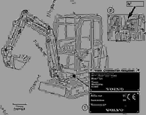 Volvo ec25 specifications