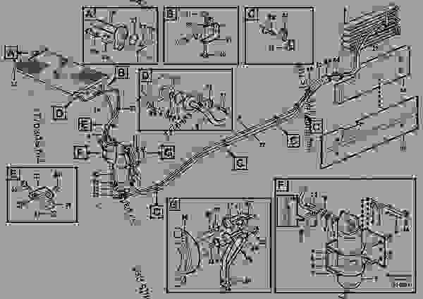 Assembly of hose: evaparator, receiver drier and condenser