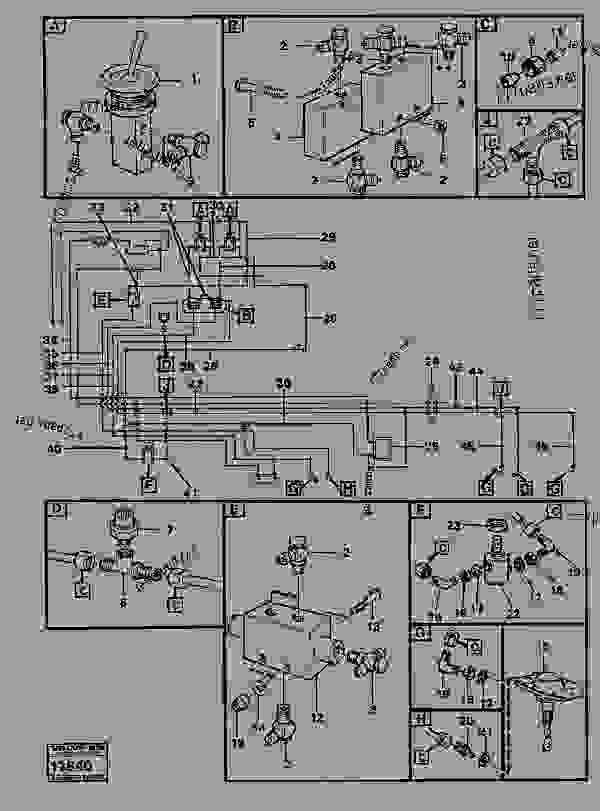 Comp. air controls 2. diff.contr.shuttle valve