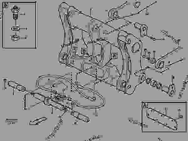 Volvo L70c Wheel Loaders Spare Parts For Volvo L70c