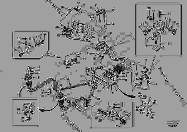 Servo system, control valve to remote control valve