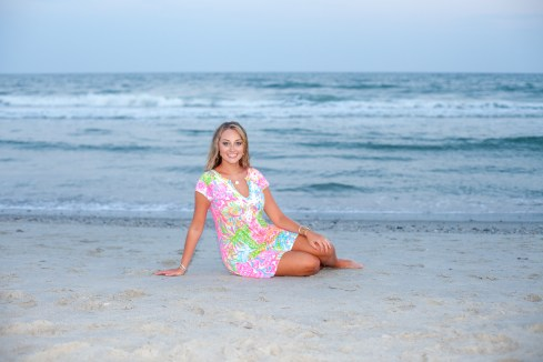 Senior photos in Myrtle Beach