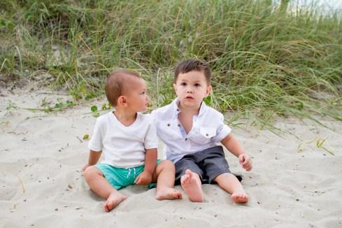 Childrens photographers on the beach