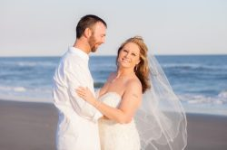 Posing ideas after the wedding on the beach