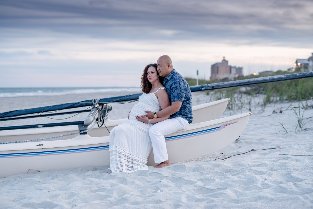 Maternity photo session in Myrtle Beach