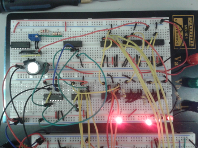 Frequency Divider Using T Flip Flop Configuration