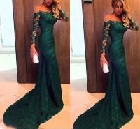 Dark Green Evening Dress,green Prom Dress,long Evening ...