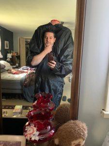 Rob Hoffman and Halloween costume