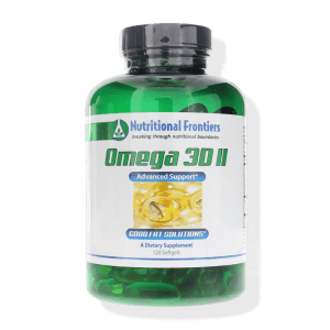 OMEGA 3D 120 nutritional frontiers