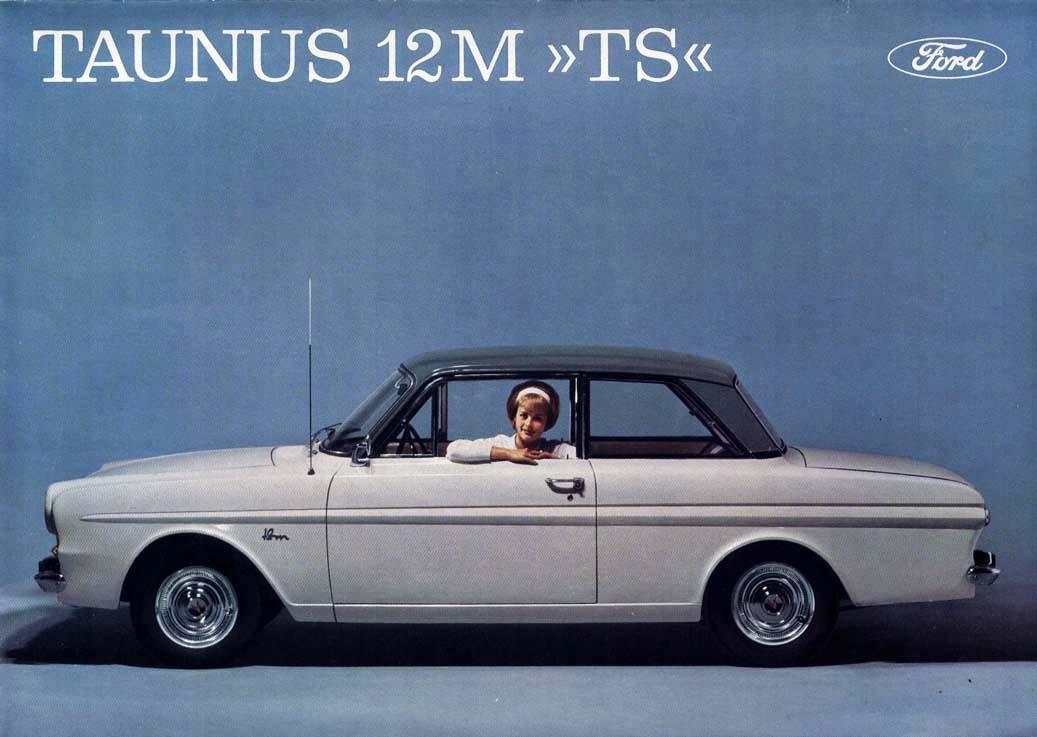 Design is fine  Ford Taunus 12M  TS sales folder 1962
