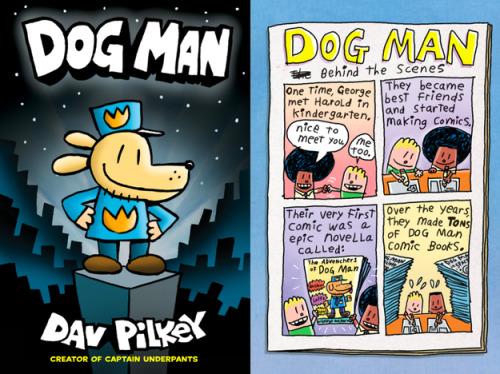 Dav Pilkeys DOG MAN