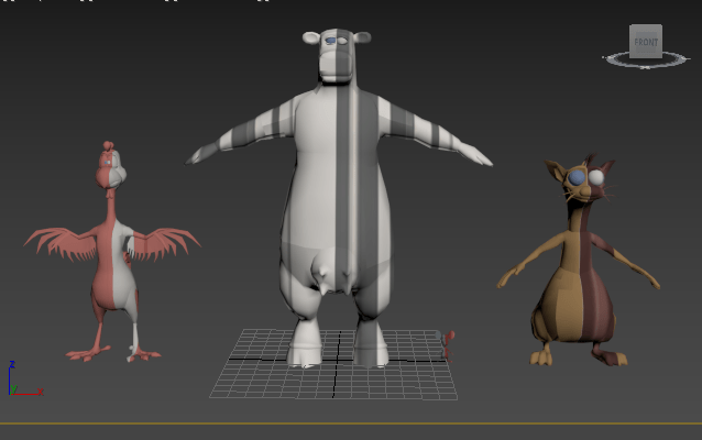 barnyard movie game models